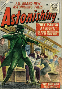 Cover Thumbnail for Astonishing (Marvel, 1951 series) #42
