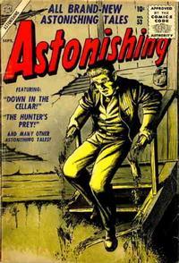 Cover Thumbnail for Astonishing (Marvel, 1951 series) #53
