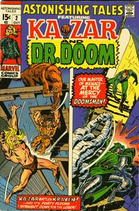 Cover Thumbnail for Astonishing Tales (Marvel, 1970 series) #2 [Regular Edition]