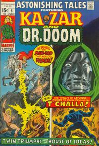 Cover Thumbnail for Astonishing Tales (Marvel, 1970 series) #6 [Regular Edition]