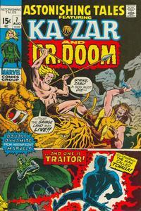 Cover Thumbnail for Astonishing Tales (Marvel, 1970 series) #7 [Regular Edition]