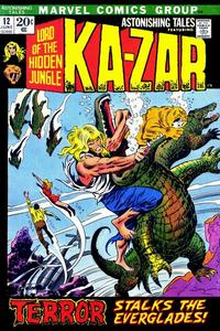 Cover Thumbnail for Astonishing Tales (Marvel, 1970 series) #12