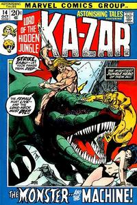 Cover Thumbnail for Astonishing Tales (Marvel, 1970 series) #14 [Regular Edition]