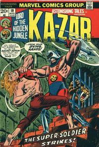 Cover Thumbnail for Astonishing Tales (Marvel, 1970 series) #19 [Regular Edition]