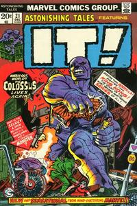 Cover Thumbnail for Astonishing Tales (Marvel, 1970 series) #21 [Regular Edition]