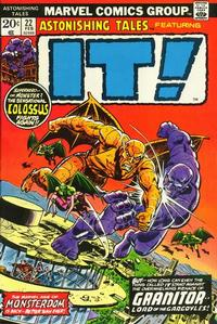Cover Thumbnail for Astonishing Tales (Marvel, 1970 series) #22 [Regular Edition]