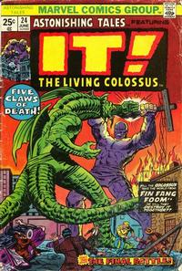 Cover Thumbnail for Astonishing Tales (Marvel, 1970 series) #24