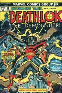Cover Thumbnail for Astonishing Tales (Marvel, 1970 series) #25 [Regular Edition]