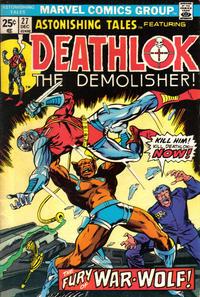 Cover Thumbnail for Astonishing Tales (Marvel, 1970 series) #27 [Regular Edition]