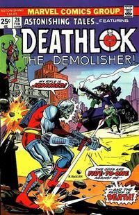 Cover Thumbnail for Astonishing Tales (Marvel, 1970 series) #28 [Regular Edition]