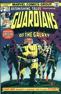 Cover Thumbnail for Astonishing Tales (Marvel, 1970 series) #29 [Regular Edition]