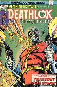 Cover Thumbnail for Astonishing Tales (Marvel, 1970 series) #31 [Regular Edition]