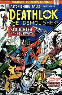 Cover Thumbnail for Astonishing Tales (Marvel, 1970 series) #32 [Regular Edition]