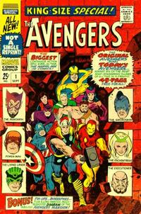 Cover Thumbnail for The Avengers Annual (Marvel, 1967 series) #1