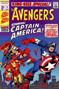 Cover Thumbnail for The Avengers Annual (Marvel, 1967 series) #3