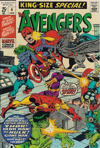 Cover Thumbnail for The Avengers Annual (Marvel, 1967 series) #4