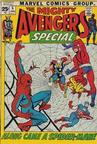 Cover Thumbnail for The Avengers Annual (Marvel, 1967 series) #5
