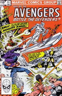Cover Thumbnail for The Avengers Annual (Marvel, 1967 series) #11 [Direct Edition]