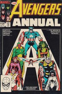 Cover Thumbnail for The Avengers Annual (Marvel, 1967 series) #12 [Direct Edition]