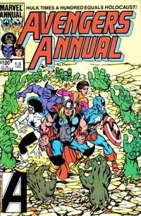 Cover Thumbnail for The Avengers Annual (Marvel, 1967 series) #13 [Direct Edition]