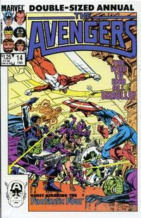 Cover Thumbnail for The Avengers Annual (Marvel, 1967 series) #14 [Direct Edition]