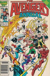 Cover Thumbnail for The Avengers Annual (Marvel, 1967 series) #15 [Newsstand Edition]