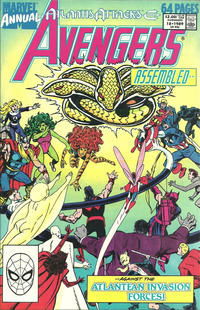 Cover Thumbnail for The Avengers Annual (Marvel, 1967 series) #18 [Direct Edition]