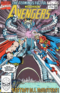 Cover Thumbnail for The Avengers Annual (Marvel, 1967 series) #19 [Direct Edition]