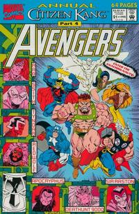 Cover Thumbnail for The Avengers Annual (Marvel, 1967 series) #21 [Direct Edition]