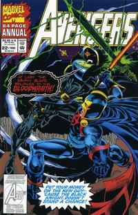 Cover Thumbnail for The Avengers Annual (Marvel, 1967 series) #22 [Direct Edition]