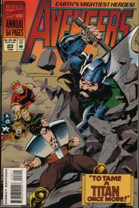 Cover Thumbnail for The Avengers Annual (Marvel, 1967 series) #23 [Direct Edition]