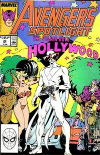 Cover Thumbnail for Avengers Spotlight (Marvel, 1989 series) #23 [Direct]