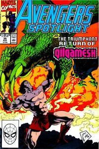 Cover Thumbnail for Avengers Spotlight (Marvel, 1989 series) #35