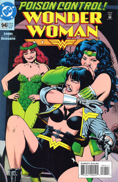 Cover for Wonder Woman (DC, 1987 series) #94