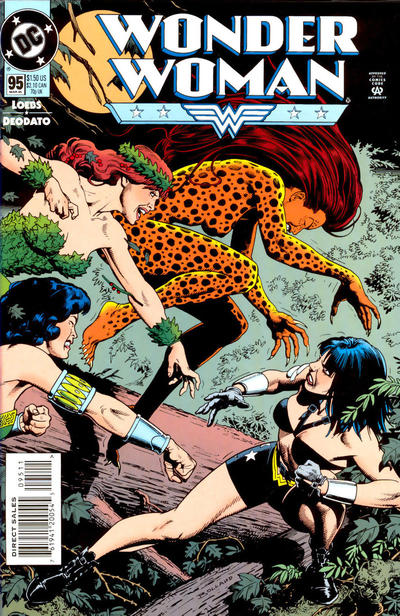 Cover for Wonder Woman (DC, 1987 series) #95