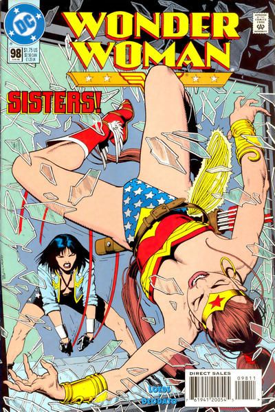 Cover for Wonder Woman (DC, 1987 series) #98