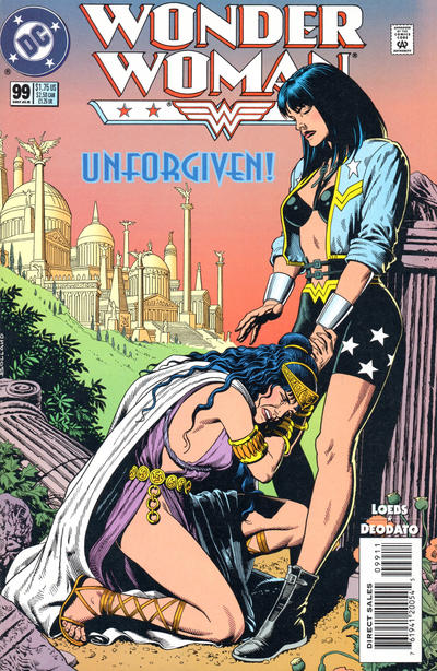 Cover for Wonder Woman (DC, 1987 series) #99