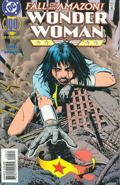 Cover for Wonder Woman (DC, 1987 series) #100 [Foil Enhanced]