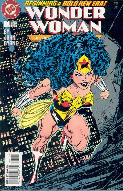 Cover for Wonder Woman (DC, 1987 series) #101 [Direct Sales]