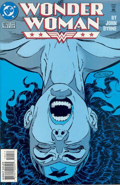 Cover for Wonder Woman (DC, 1987 series) #102 [Direct Edition]