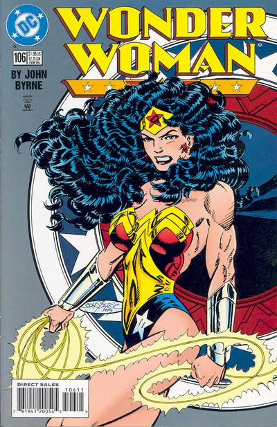 Cover for Wonder Woman (DC, 1987 series) #106 [Direct Edition]