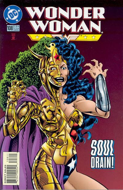 Cover for Wonder Woman (DC, 1987 series) #108