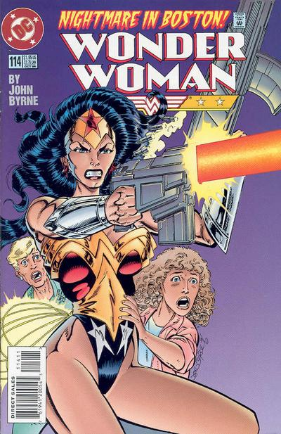 Cover for Wonder Woman (DC, 1987 series) #114