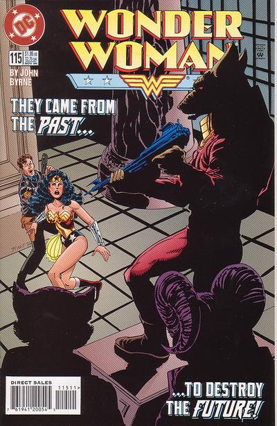 Cover for Wonder Woman (DC, 1987 series) #115