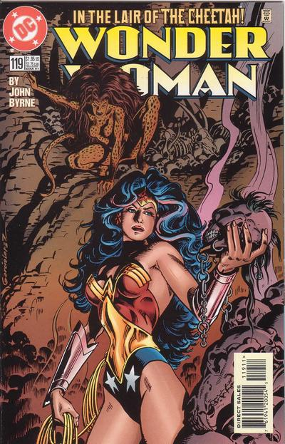 Cover for Wonder Woman (DC, 1987 series) #119 [Direct Edition]