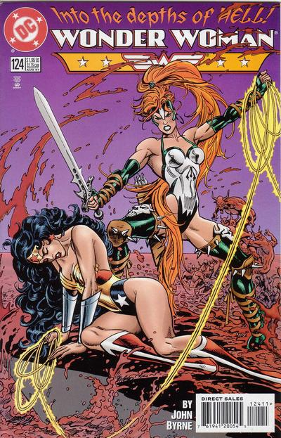 Cover for Wonder Woman (DC, 1987 series) #124 [Direct-Sales]
