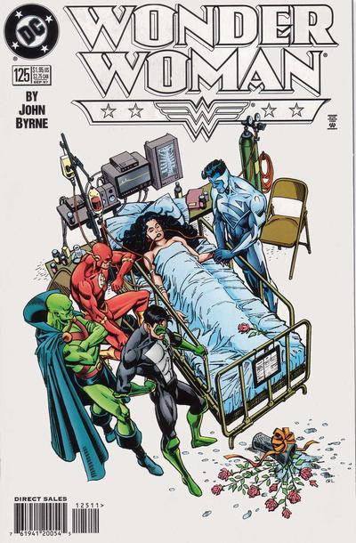 Cover for Wonder Woman (DC, 1987 series) #125