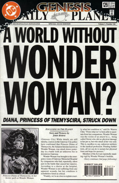 Cover for Wonder Woman (DC, 1987 series) #126