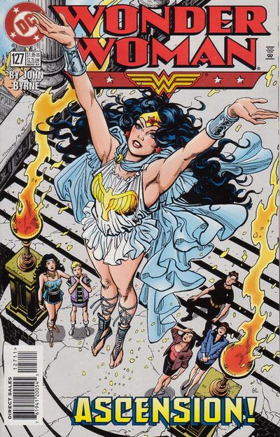 Cover for Wonder Woman (DC, 1987 series) #127 [Direct Edition]