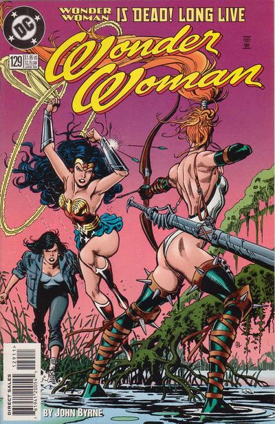 Cover for Wonder Woman (DC, 1987 series) #129